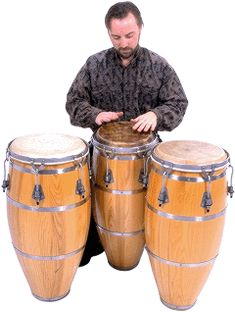 Have a go at playing The Conga Drums