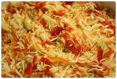 Pikáns székely csalamádé a csípős ízek kedvelőinek, pofonegyszerűen! Preserves, Cabbage, Salads, Vegetables, Ethnic Recipes, Fit, Pickles, Gastronomia, Preserve