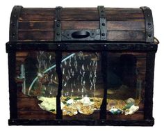 10 gallon fish tank,treasure chest                                                                                                                                                                                 Más