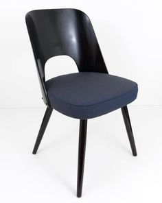 Set of Six Modernist Dining Chairs by Oswald Haerdtl, Ton, 1950s 7