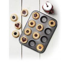 Kitchen Master Class - Forma do muffinów Crysty Bake - 12 ciastek ciastka muffiny Kitchen Craft