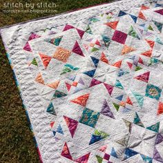 Great quilting on this quilt!