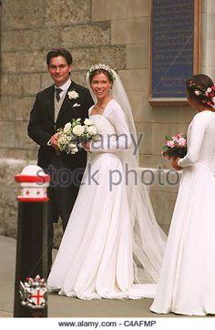 SARAH ARMSTRONG JONES AND DANIEL CHATTO - Stock Photo