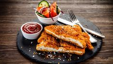 Schnitzel: comfort food, guilty pleasure, beloved by kids and adults alike. While there's nothing like a freshly fried, crisp cutlet, . Schnitzel Recipes, Breaded Pork Chops, Food Signs, Spicy Honey, Chow Mein, Jewish Recipes, Rocky Road, Good Enough To Eat, Recipes