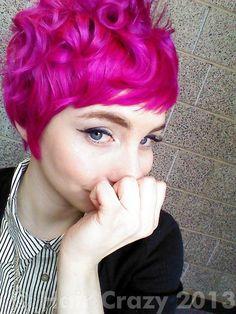 **manic panic hot hot pink**