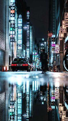 Cyberpunk Cities: Photos by Teemu Jarvinen – Inspiration Grid Urban Photography, Night Photography, Creative Photography, Street Photography, Landscape Photography, Cyberpunk Aesthetic, Cyberpunk City, Night Aesthetic, City Aesthetic