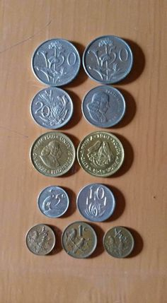 Cents Old Coins Value, South African Flag, Durban South Africa, Coin Values, World Coins, My Childhood Memories, African History, Coin Collecting, The Good Old Days