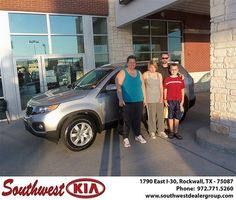 Congratulations to Kristin Erickson on the 2013 #KIA Sorento