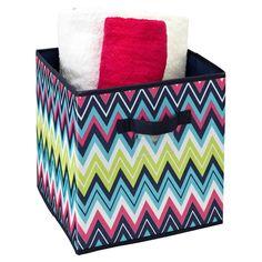Delila Storage Cube..... chevron
