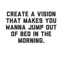 Do you have VISION? #motivation #success #advocare