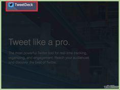 Cómo usar TweetDeck
