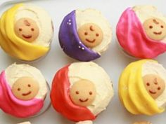 Baby Shower Cupcakes Ideas For Your Guests | Baby shower decoration ideas