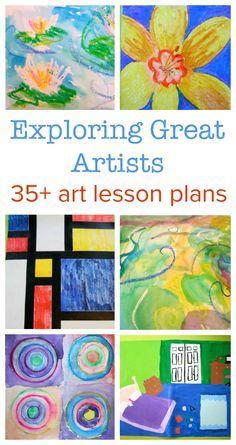 art lesson plans ::