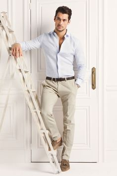 MenStyle1- Men's Style Blog - pinning this for Mr. Gandy since he looks really good in this outfit.