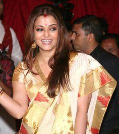 23 Best Kasavu saree kerala images   Kasavu saree, Saree ...