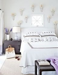 Luscious bedrooms - mylusciouslife.com - coral collection in a beach house