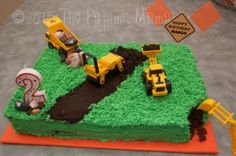 Construction Trucks Themed 2nd Birthday Party | The Pajama Mama