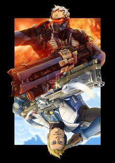 Overwatch - Soldier: 76 Bipolar