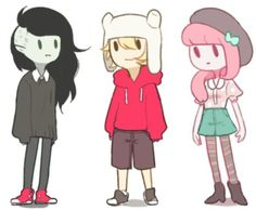 Imagem de adventure time, finn, and marceline