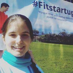 #Entrenando... Pero también hay tiempo para un #selfie  #FitStartup #entrenamiento #fitness #instafit #CajaMágCajaMágica #Madrid #DespiertayEntrena