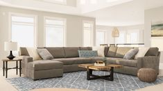 Large Open Living Room Layout Guide How To Style An Oversized Space Sectional Living Room Layout Large Living Room Layout Rectangular Living Rooms