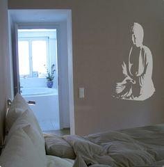 WandTattoo Buddha | SILBENSALON