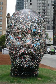 Gum head by Douglas Coupland