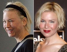 Stars without make-up  -  Renee Zellwigger