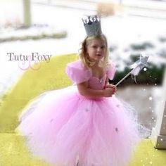 Princess Costume Pink Princess Tutu Dress Cinderella Dress   Etsy Glinda Costume, Pink Costume, Tutu Costumes, Costume Ideas, Princess Tutu, Princess Costumes, Princess Birthday, Witch Tutu, Pastel Skirt