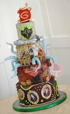 Descendants 2 Cake