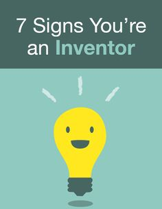 You might have the brain of an inventor! Check out the signs at our #blog on inventhelp.com.