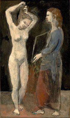 Pablo Picasso - Le Toilette (Fernande) (1906)