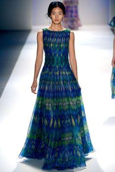 Spring 2013 RTW, Designer: Tadashi Shoji, Model: Lina Zhang