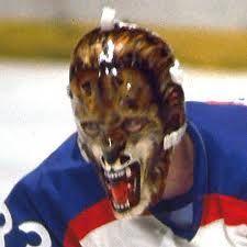 Gilles Gratton mask- gggrrrr!