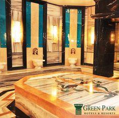 Şehir hayatının stresinden uzaklaşarak rahatlamak ve vücudunuzdaki toksinlerden arınmak için The Green Park Kartepe Resort & Spa'da #hamam keyfini yaşamaya ne dersiniz?