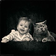 Russian Photographer Andy Prokh's Favorite Thing To Photograph Is His Daughter And Her Cat (PHOTOS)