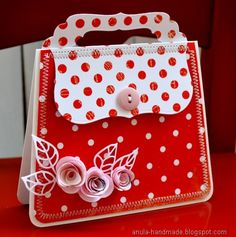 purse card - makin this next b'day for my grand-daughter