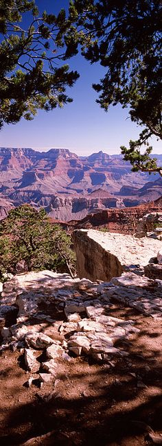 Rock Formations, Mather Point, South Rim Grand Canyon