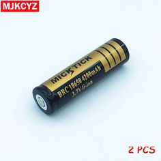 2Pcs 3.7V 18650 4200mAh Battery lithium Li Ion Rechargeable Large Capacity Batteries battaries Flashlight red LED  free shipping