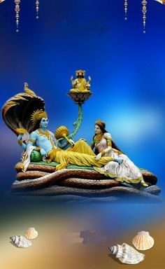 Lord Vishnu The Preserver Bal Krishna, Krishna Art, Radhe Krishna, Shri Ganesh, Lakshmi Images, Lord Balaji, Lord Krishna Images, Ganesh Images, Lord Vishnu Wallpapers