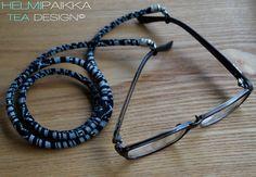 Mustavalkoinen silmälasinauha