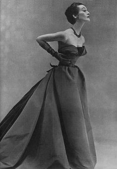 Mary Jane Russell for Harper's Bazaar, September 1951