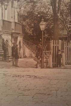 Downtown Charleston - Meeting Street circa 1865