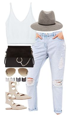 """""""Inspired outfit for a casual dinner"""" by whathayleywore ❤ liked on Polyvore"""
