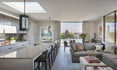 See more of Helen Green Design's Penthouse North, Knightsbridge on 1stdibs
