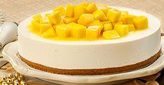 No-Bake Mango Cheesecake on www.createwithcream.ph