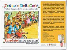 """Día de los Derechos del Niño: cuaderno """"Tenemos Derechos""""  Para celebrar el Día de los Derechos del Niño, 20 de noviembre, este excelente cuaderno, """"Tenemos Derechos"""", nos proporciona la oportunidad de poder trabajarlo en el aula."""