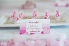 """Sweet Ombre Princess Party/ Gorgeous Princess Party/ Princess Tea Party [pink and sparkle loving] [""""Every girl is a Princess""""] ♥♥♥"""