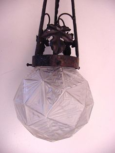 art deco hall lamp #ArtDeco