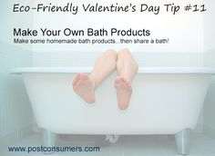 Make Your Own Bath Products for Valentine's Day